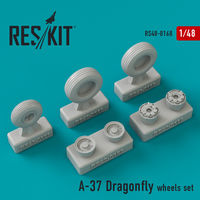 A-37 Dragonfly wheels set - Image 1