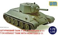 T-34 Assault Tank with Howitzer U-11 - Image 1