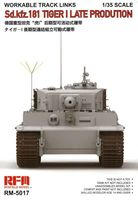 Sd.Kfz. 181 Tiger I Late Production Workable Track Links