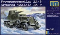 Ba-9 Soviet armored vehicle