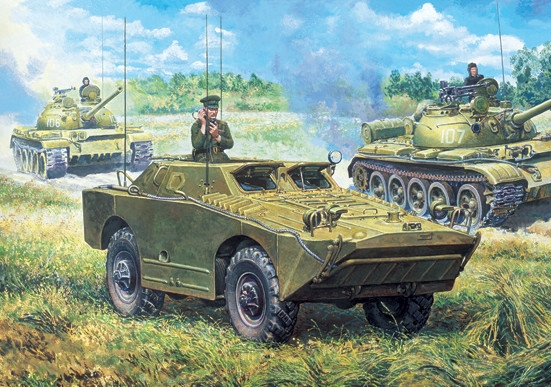 BRDM-U armored vehicle - Image 1
