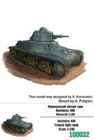 Hotchkiss H38 French light tank - Image 1