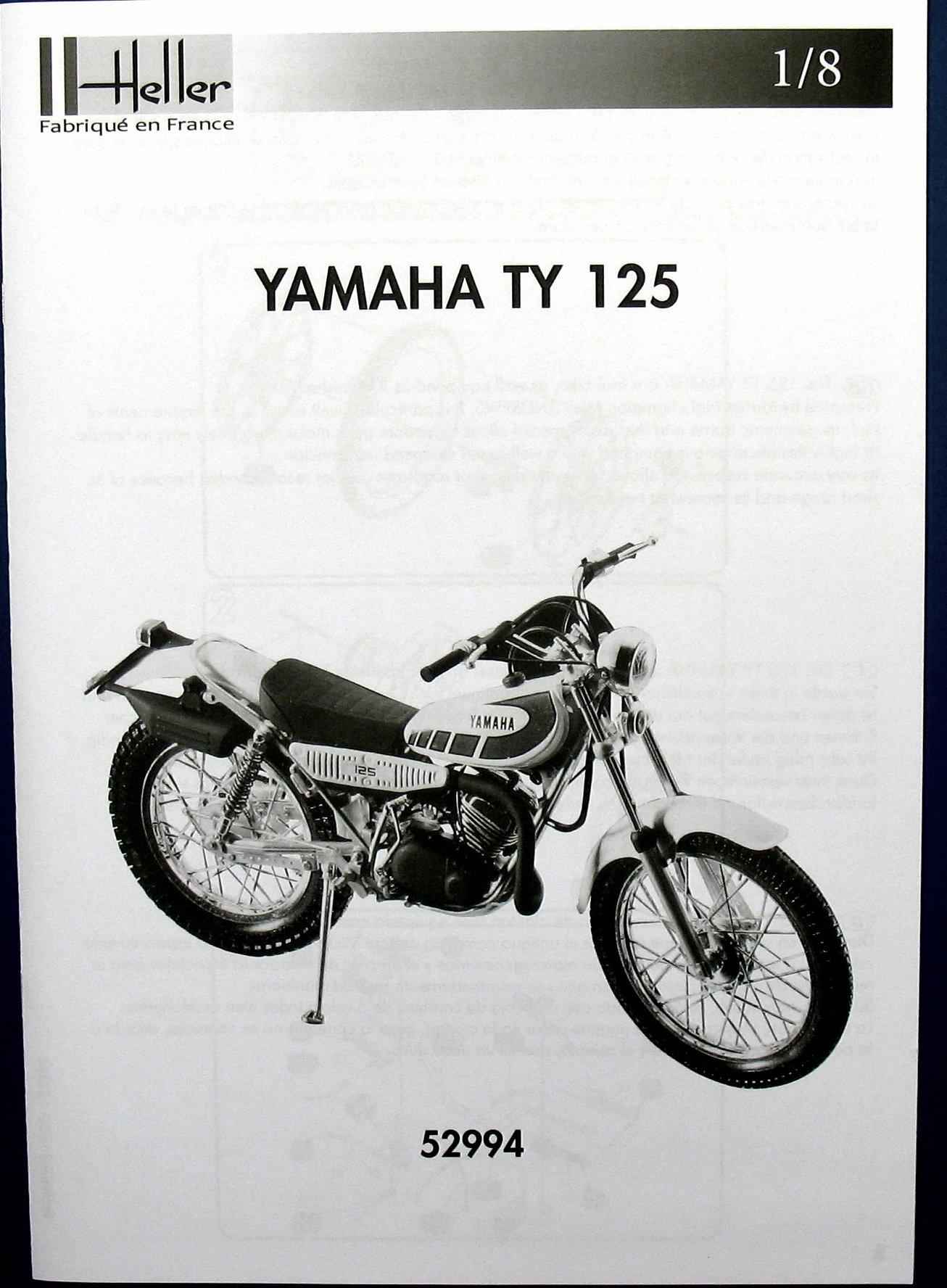 Heller 52994 Yamaha TY 125 in 1:8