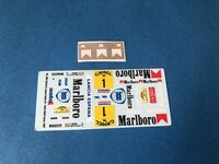 Lancia Delta S4 Decals for model kits Beemax and NUNU - Image 1