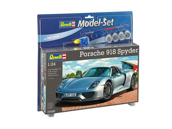 porsche 918 spyder model set revell 67026. Black Bedroom Furniture Sets. Home Design Ideas
