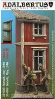 Mini-diorama Narwik 1940 (Narvik vignettte + 2 Polish/French figures) - Image 1