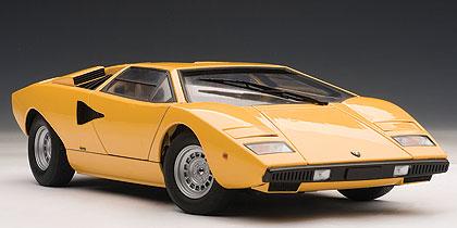 Lamborghini Countach LP400 - Die-cast model - AutoArt 74646