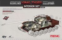 German Heavy Tank Sd.Kfz.182 King Tiger Porsche Turret Interior Set
