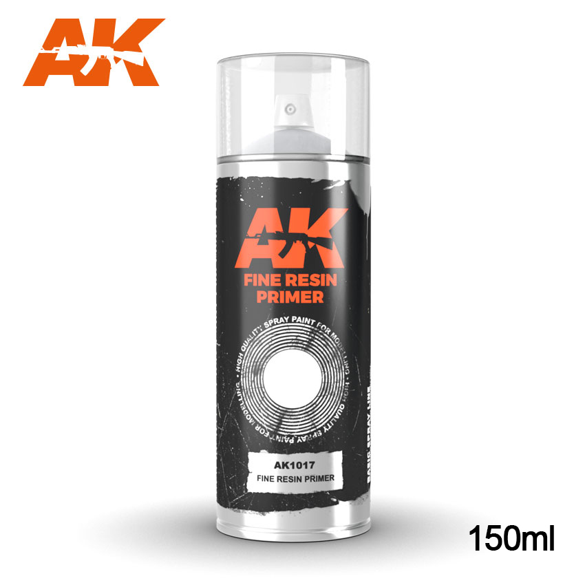 AK1017 FINE RESIN PRIMER SPRAY - Image 1
