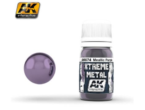 AK674 XTREME METAL METALLIC PURPLE - Image 1