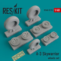A-3 Skywarrior wheels set - Image 1