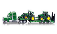 Low Loader with John Deere Tractors