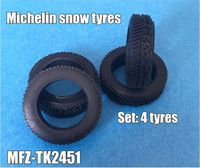 Michelin snow tyres 4 pieces - Image 1