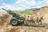 M1 155mm Howitzer with Crew - Image 1