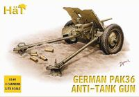 German PaK36 Anti-tank gun