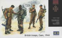 British Troops Caen 1944 - Image 1