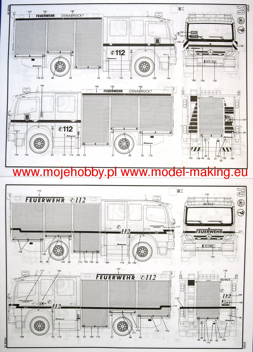 Schlingmann Hlf 20 16 Mercedes Benz Atego 1529 Ai Revell 07525 Wiring Diagram 2 Rev7525 5