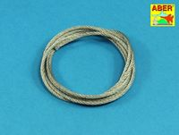 Stainless Steel Towing Cables fi 2,5mm, 125 cm long - Image 1