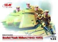Soviet Tank Riders (1943-1945) (4 figures)  (100% new molds) - Image 1