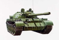 Russian Medium Tank T-55A - Image 1