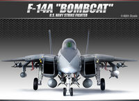 F-14A BOMBCAT U.S. NAVY STRIKE FIGHTER