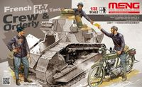 French FT-17 light tank crew & ordery