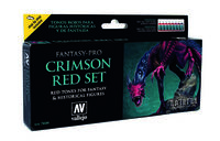 74103 Fantasy-Pro Crimson Red Set Red Tones for fantasy & historical figures