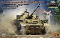 Pz.Kpfw.IV Ausf. J Last Production with Full Interior & Clear Parts & Workable Track Link