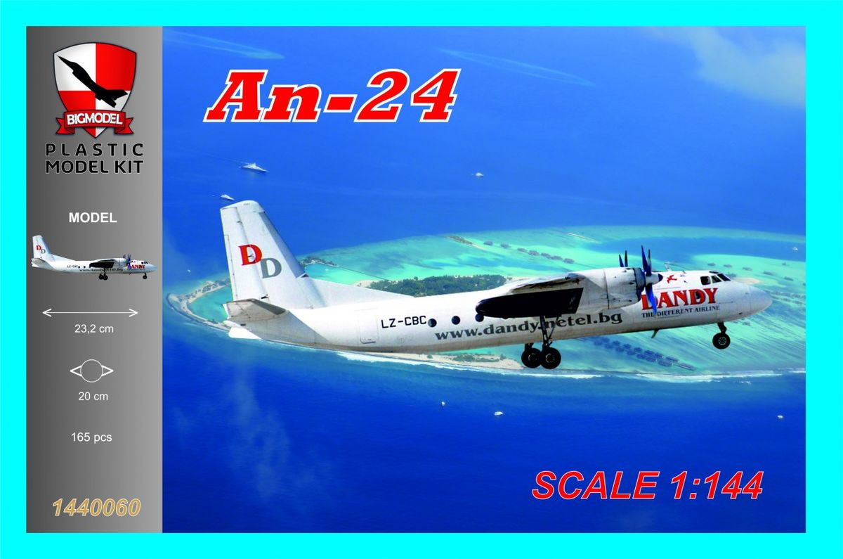 An-24 Dandy Airline - Image 1
