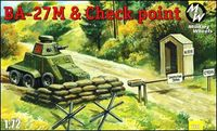 Soviet armoured car BA-27M and Checkpoint - Image 1