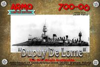 """Dupuy De Lome"" French Battle Cruiser 1890-91"