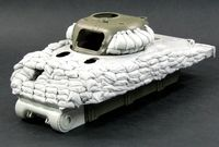 Heavy Sand armor for M4A1 Tank (Early hull) - Image 1