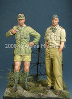 German DAK Panzer Crew Set (2 figs)