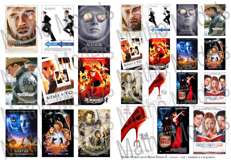 Movie Posters E - 2000s - Image 1