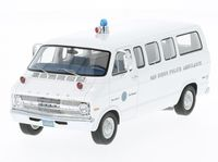 Dodge Sportsman San Diego Police Ambulance 1973