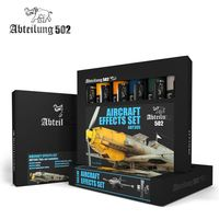 ABT305 Abteilung Oil Paint Set - Aircraft Effects