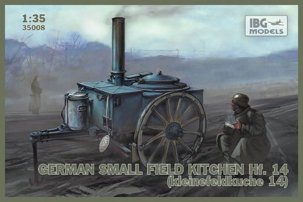 German small field kitchen Hf.14 (kleine Feldkuche 14) - Image 1